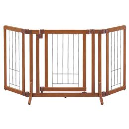 リッチェル ペット用木製おくだけドア付ゲート S[犬]/ユージーベットドットコム(UGペット.com)【犬 ケージ・サークル・ゲート ゲート】